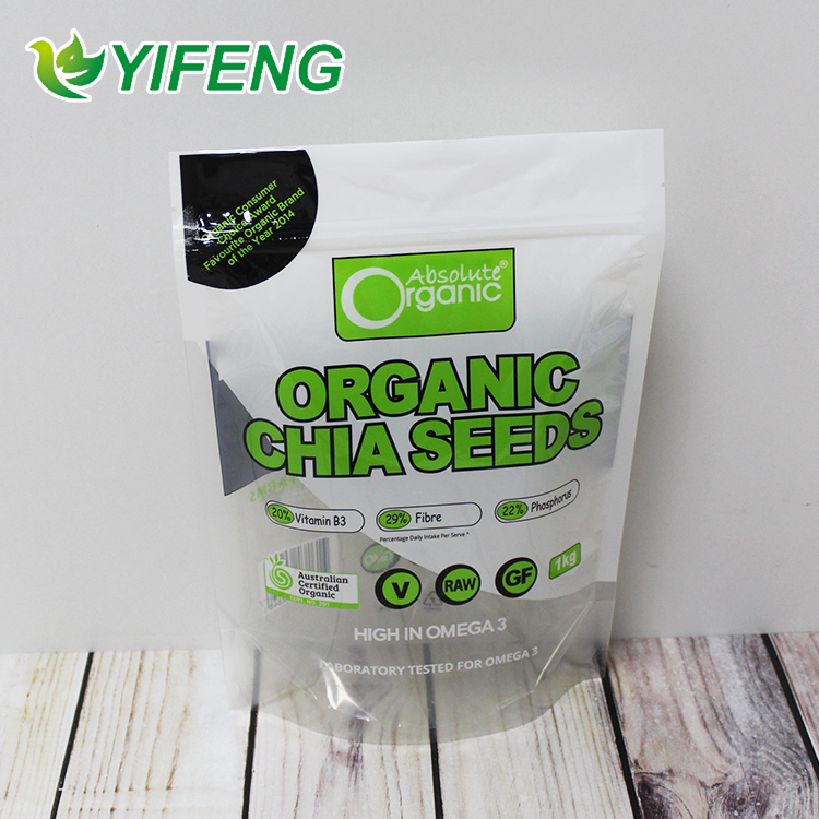 Delivery Vaccum Eco Friendly Packaging Grade Poly Organic Aluminum Foil Package Bag For Food