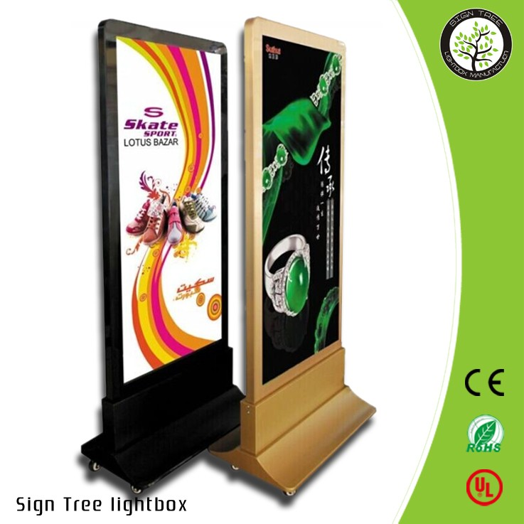 aluminum moving lightbox picture led advertising outdoor/indoor advertising light box