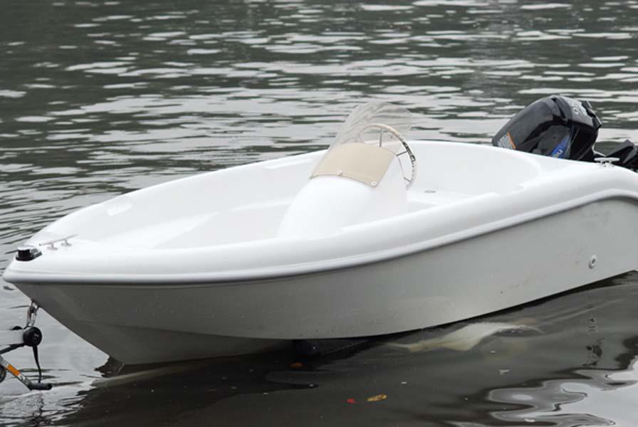"""Barco De Fibra De Vidro Modelo RC casco 33/""""X10/"""""""