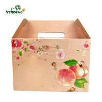 China gold manufacturer excellent quality live pet carrier paper box without lid
