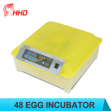 2017 Hot sale Full Automatic mini chicken duck turkey love birds egg incubator for sale CE marked YZ8-48