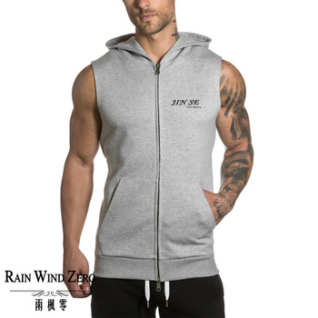 Custom new arrival gym wear fashion plain hoodies /fitness of hoodies sports wear for men