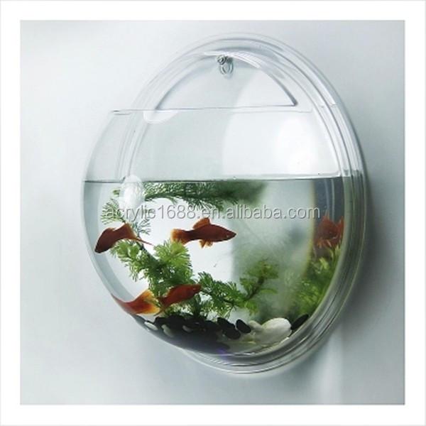 Wall Mounted Acrylic Fancy Fish Tank