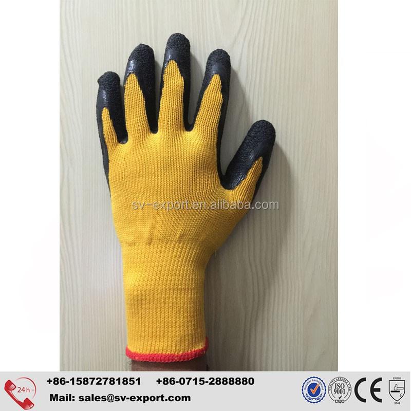 Latex Coated Anti Cut Gloves