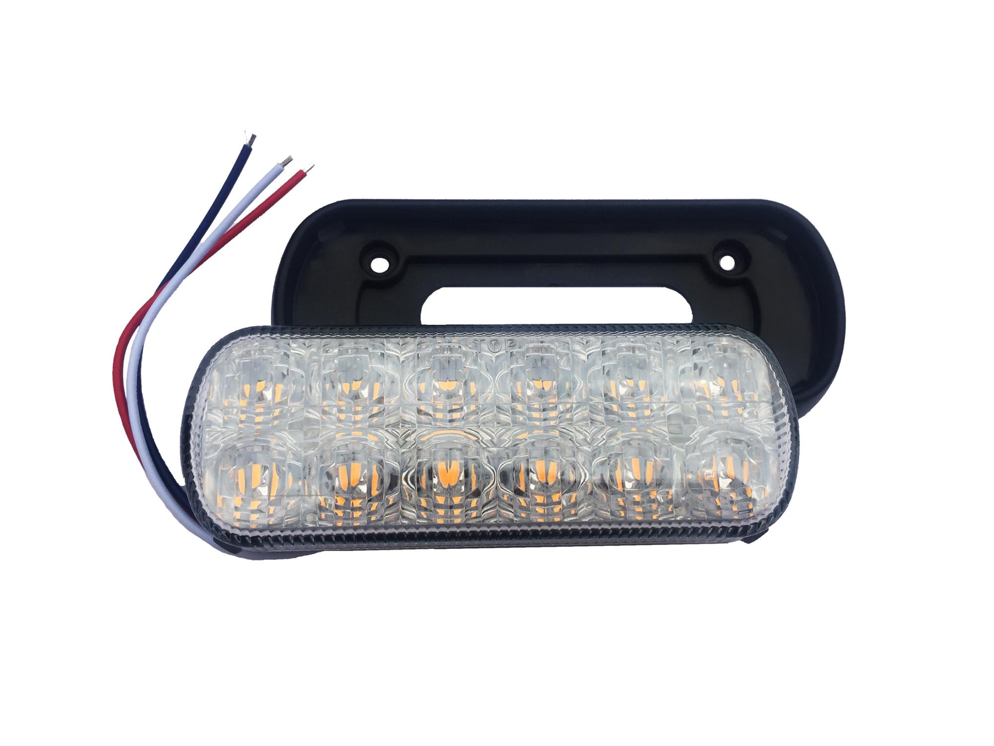 Law Enforcement Emergency Hazard Warning Strobe Lights For Truck Car Warning Snow Plow Safety Flashing Strobe Light