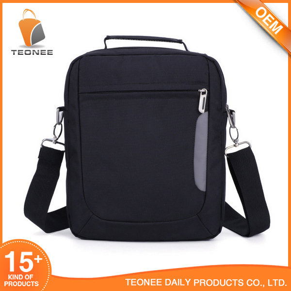 Fashion Casual For Men 600d polyester messenger bag
