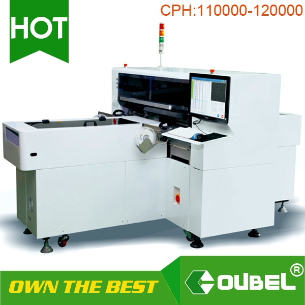Fully automatic high speed LED PCB board surface mounting machine/LED circuit board mounter