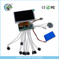 High quality video chip video module for video brochure and greeting card