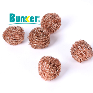 copper wire brass scourer 15g cleaning ball