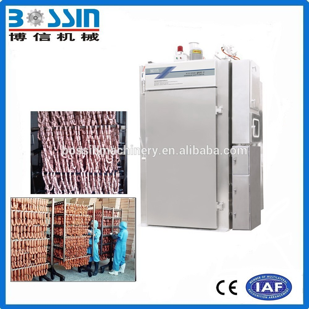 Low manufacturing cost latest designed automatic smokehouse