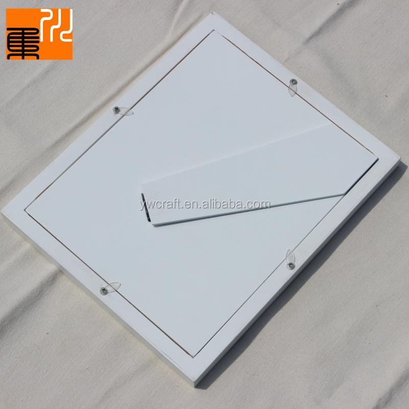 Hohe Qualität Weiß Holz Bilderrahmen Baby Fußabdruck Kit Handabdruck ...