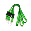 Heat Transfer Printing Polyester Oval Hook Lanyard With USB