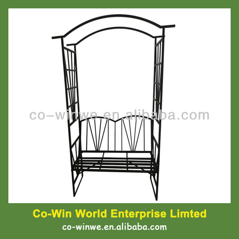 Garden Arch With Bench, Garden Arch With Bench Suppliers And Manufacturers  At Alibaba.com