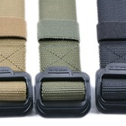 Belt Belts Military Belt Nylon Webbing Tactical Belt For Waist Black Metal Buckle Military Style Belts Casual Army Outdoor Everyday Us