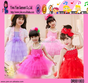 5025ebd9de8c Usa Best Selling Baby Girl Party Dress Candy Color Baby Girl Party ...