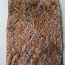 Factory supply novel style long pile plush discount faux fur fabric sale