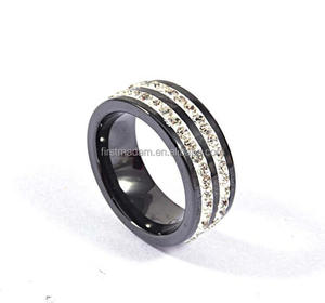 Promotional Ceramic Diamond Ring