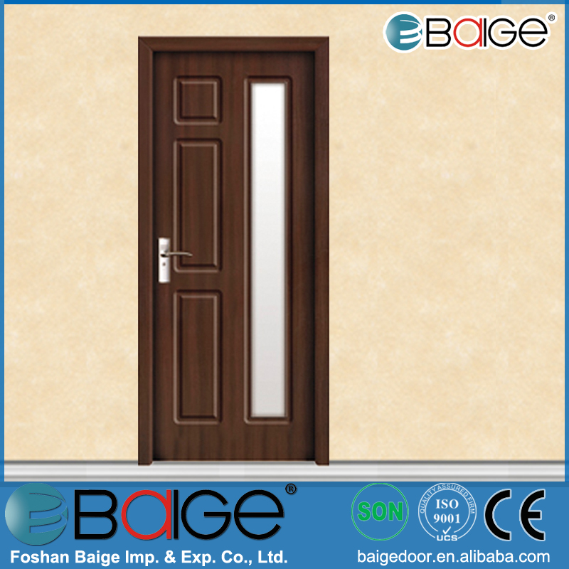 BG P9036 Pvc Toilet Door/pvc Bathroom Door/modern Wood Door Designs Part 97