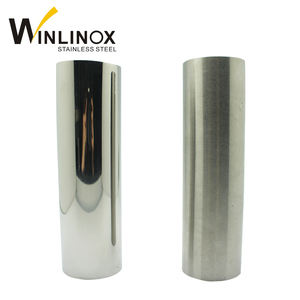 A554 inox welded good polished ss TP201 304 316 430 pipe tube