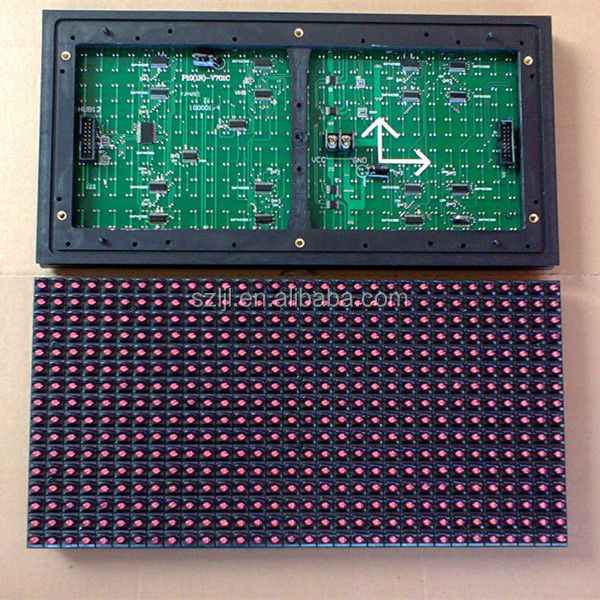 Outdoor Display P10-1R Panle/P10 Module LED 16x32 Red