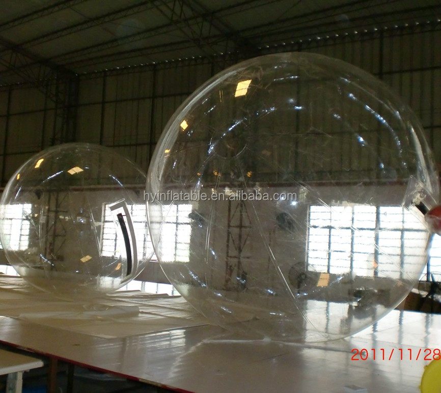 Funny custom giant inflatable human sphere, inflatable water sphere balls for sale