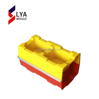 Plastic Molding Used Plastic Mould For Interlock Tile Making