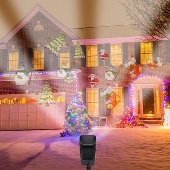 Christmas Light Projector.2018 New Laser Light Outdoor Christmas Lights Projector Ip65 Color Package Buy Led Light Laser Light Laser Light Projector Christmas Lights Product
