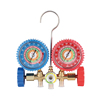 High Performance Industrial HVAC R410A Manifold Pressure Gauge with Brass Body