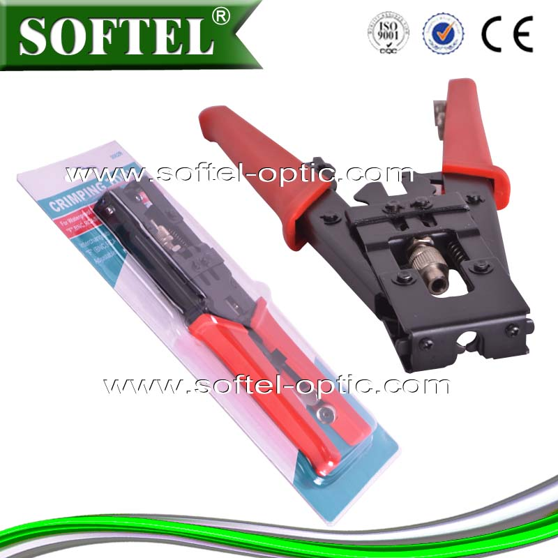 [SOFTEL]China supplier Profession cable lugs crimp type tool,Coaxial Cable Crimping Tool/cable ferrules crimping tool