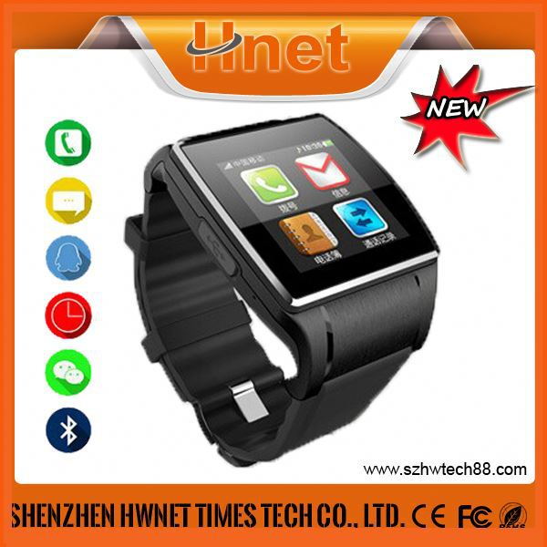 Original New design Touch fashion android silicon Thermometer Pedometer best watch mobile phone