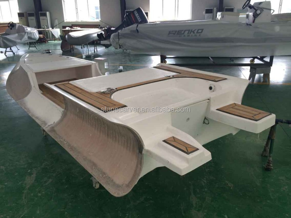 Double Layer Frp Hull Rigid Inflatable Boat With Natural Teak Wood Floor,Ce Certificated Rilaxy ...