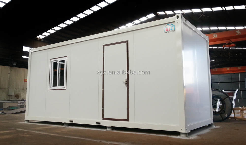 steel 20ft flat pack container house student home