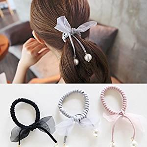 Korea Handmade Wool Cherry Rubber Hair Band Hair Accessories Headwear Girls Elastic Headband For Women Hair Bows 5 Girl's Hair Accessories