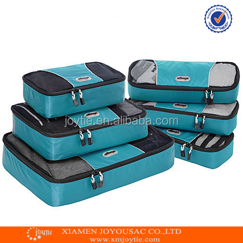 Hot Selling Packing 9 Cubes Clothes Travel Cosmetic Bag Storage Bag