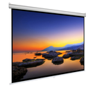 3d silver screen Projector Screen/Wall Manual Projection Screen