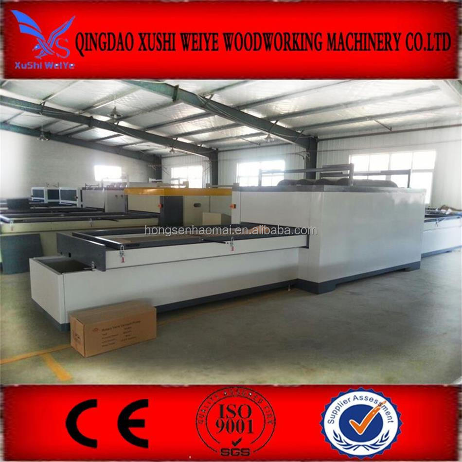 woodworking multi-function filming machine for pressing venner,pvc,hot-transfer print