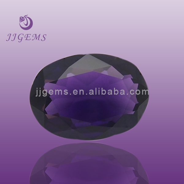 factory synthetic amethyst crystal gemstone prices