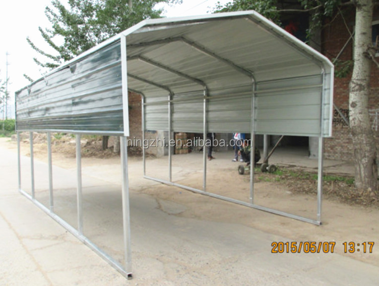 Canvas carport canopy steel carport hot sale buy carport for Steel frame tents