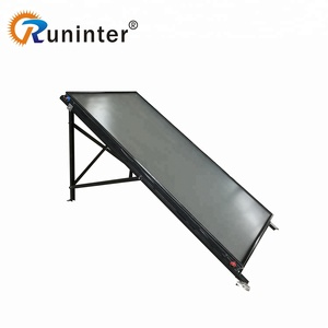 Morden Design Home Flat Plate Solar Collector Price Solar Panel Water Heater CE ISO