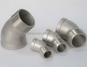 316 s.s 150lbs threaded fittings elbow 45 M-FE 2""
