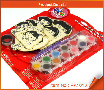 Wood Painting Kit For Kids - Coloring On The Explorer Girl - Buy Wood  Painting Kit,Kids Wood Craft Kits,Coloring Kit For Kids Product on  Alibaba.com