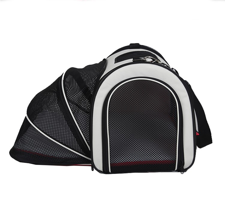 Portable hands free pet cat dog travel bag small dog cat sling carrier for car