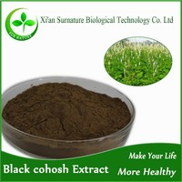 2.5%-5% triterpenoid saponins Black Cohosh Extract