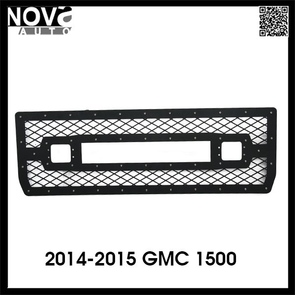 GMC Accessories 2014-2015 Power Coating GMC Car Front Bumpe Grills