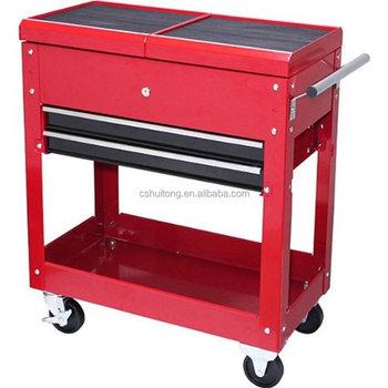 rolling tool cart tc310 mechanics slide top utility storage ...