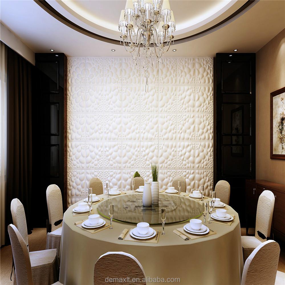 dbdmc più nuovo disegno decorativi interni abs pvc 3d pannello ...