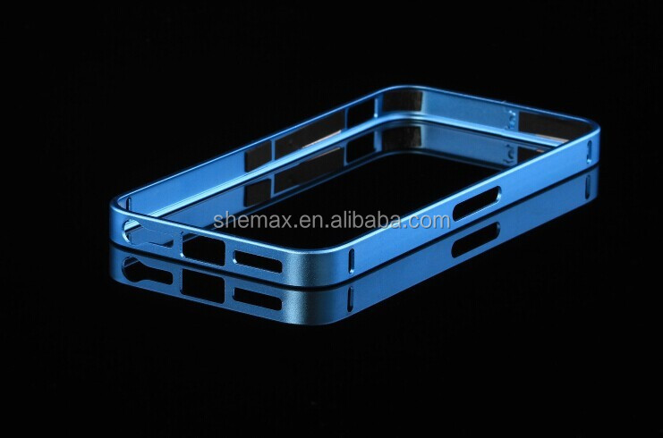 Scratchproof Metal Side Case for iPhone 4/4s