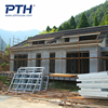 China supplier provide prefab house Light steel villa resort project by the lake