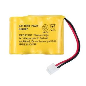NEW 3.6V NiCd Cordless Home Phone Battery for Sanik 3N-250AA 3N-270AA (S-SJC) 3N-270AA ZG 3SN2/3AA30 3SN23AA30SJ1