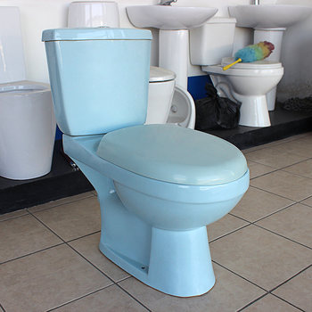 En Céramique Deux Pièces Bleu Cuvette De Toilette Couleur - Buy ...